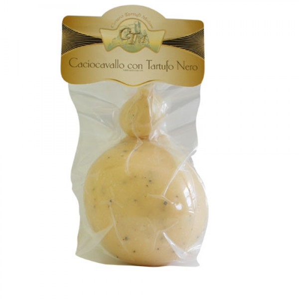 """Caciocavallo"" cheese with Black Summer Truffle 250g"