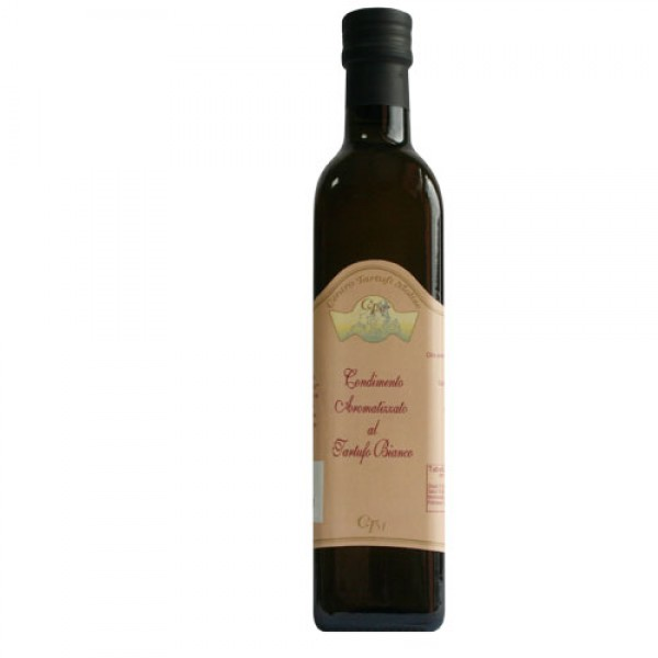 Condiment made with EVO oil and white truffle - 500ml