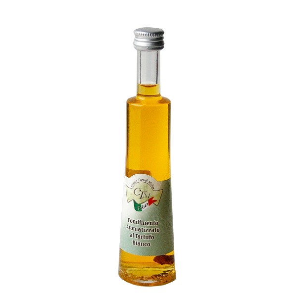 Condiment with olive oil and white truffle - 50ml