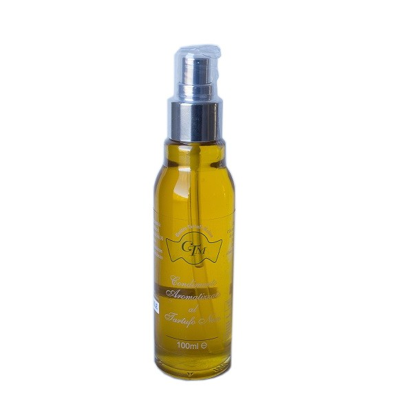 Spray condiment made with EVO oil and black summer truffle - 100ml