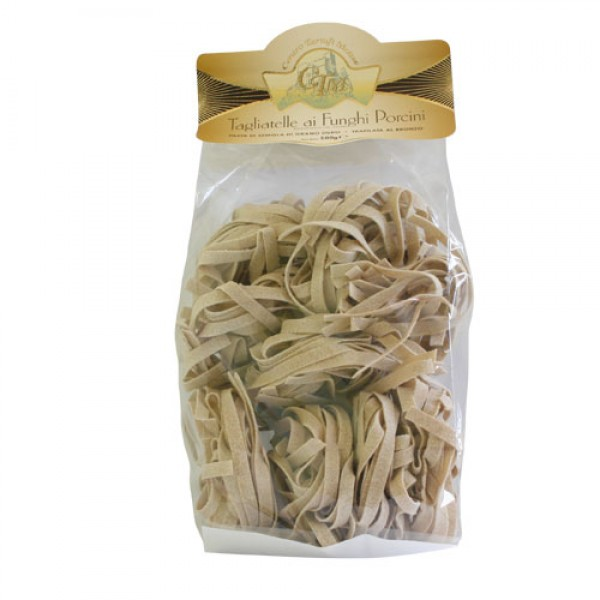 Durum noodles with Porcini Mushrooms - 500g